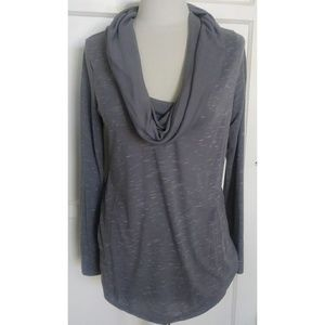Motherhood Maternity Gray long sleeve top